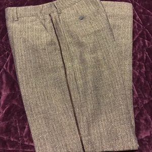 Chanel wool tweed pants 36